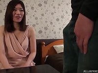 Kuroki Ikumi has insatiable desire for penis today so she calls her friend