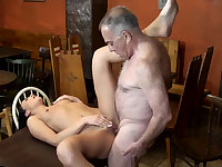 Old muscle daddy and man young whore first time Can you