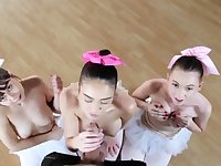 Blonde teen small tits hd xxx Ballerinas