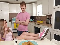 Step sis seems alright with smashing some sibling cock