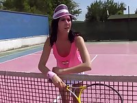 Cute Lady D drops her panties to masturbate in outdoors. HD