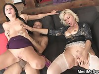 Where Comparison Can Take You old and young threesome