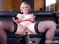 Supreme solo by a hot mature with thick ass and huge tits