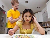 Asian nasty teen girl hot clip